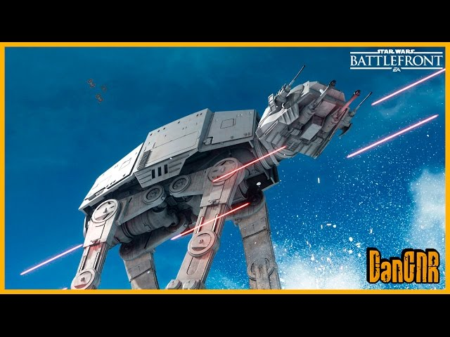Star Wars Battlefront BETA - Primeira Gameplay
