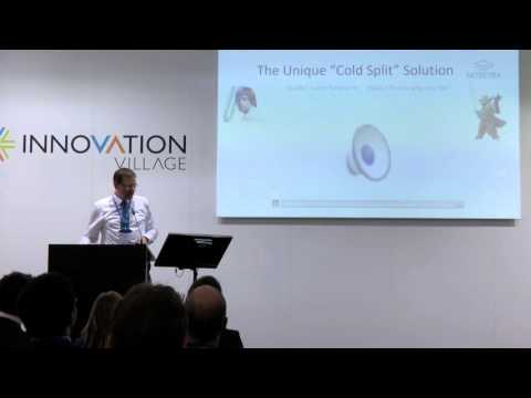 SEMICON Europa 2015 - Innovation Village - Siltectra - awarded with the BEST PITCH AWARD 2015