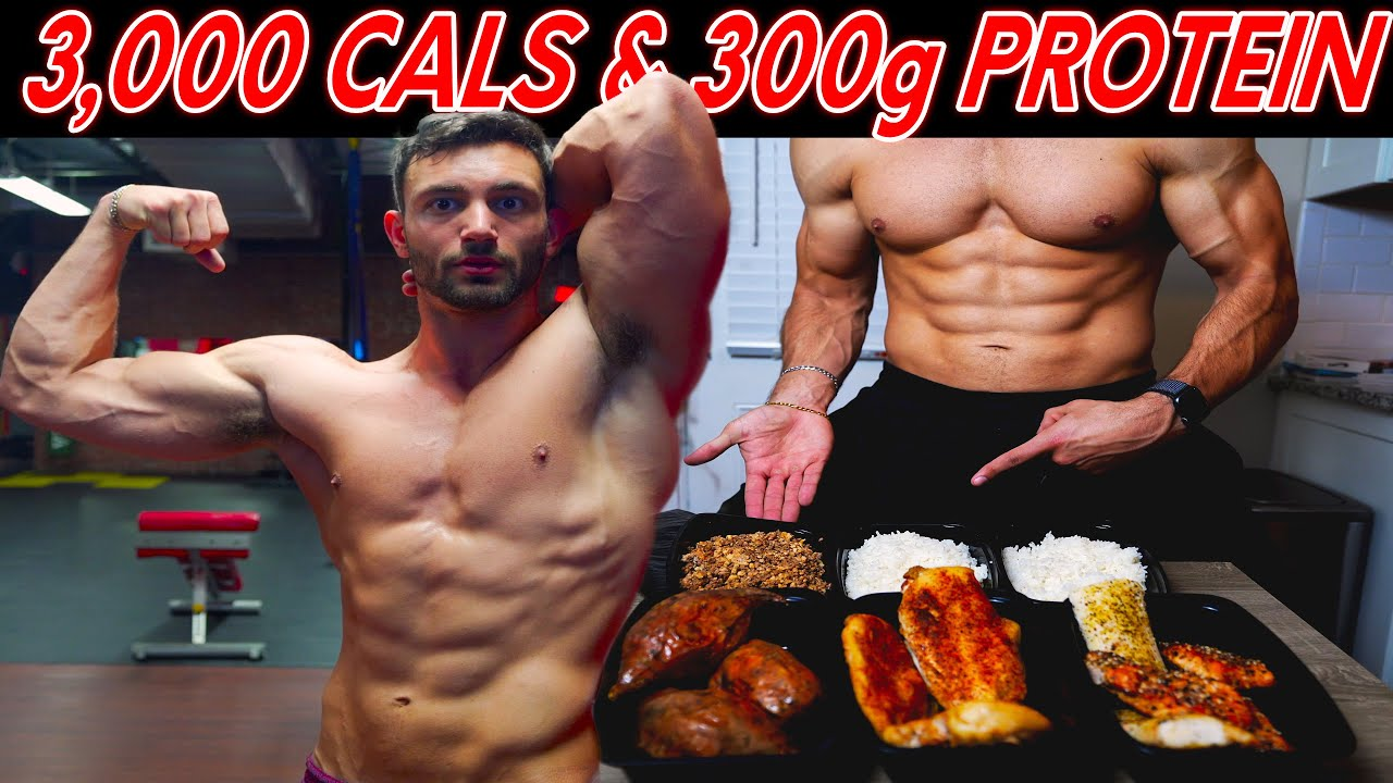 HIGH PROTEIN Full Day of Eating | How I stay SHREDDED Year Round...