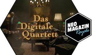Das Digitale Quartett: Polizei behindert TV-Dreharbeiten in Dresden | NEO MAGAZIN ROYALE