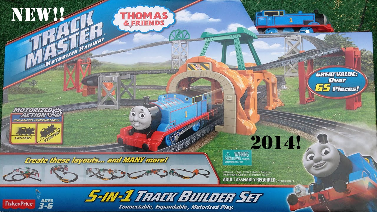 Thomas \u0026 Friends Trackmaster 5 in 1 Track Builder Set-Newly Re-Designed! - YouTube  sc 1 st  YouTube & Thomas \u0026 Friends Trackmaster 5 in 1 Track Builder Set-Newly Re ...