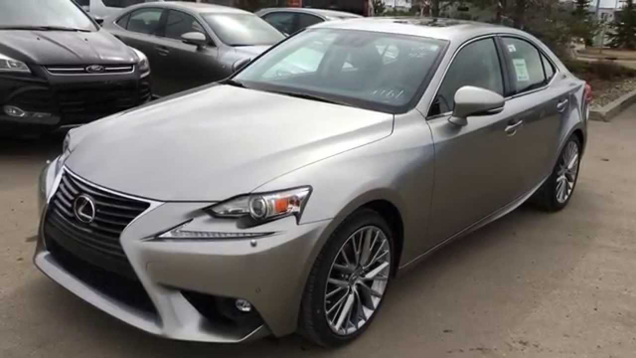 new atomic silver 2015 lexus is 250 awd luxury package. Black Bedroom Furniture Sets. Home Design Ideas