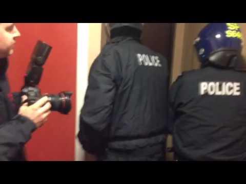 Police raid homes in Kinross