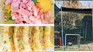#스팸계란말이# 애들반찬#달걀말이#닭장만들기#놀이터만들…