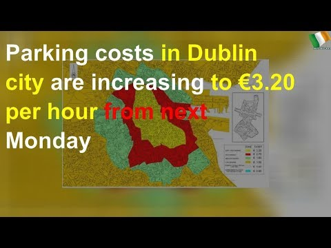 Parking Costs In Dublin City To Increase To €3.20 Per Hour