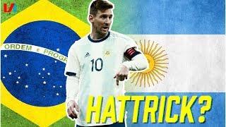 Messi Nog Nooit Zó Slecht Gezien, Hij Zal Vast Een Hattrick Maken Tegen Brazilië