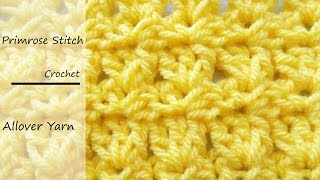 Repeat youtube video How to crochet the Primrose Stitch || Easy tutorial