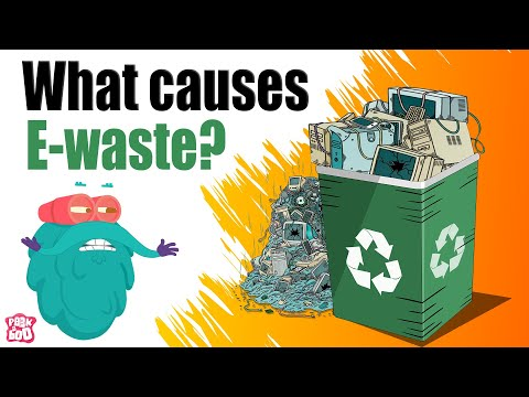 What is E-WASTE Pollution? | What Causes Electronic Waste? | The Dr Binocs Show | Peekaboo Kidz