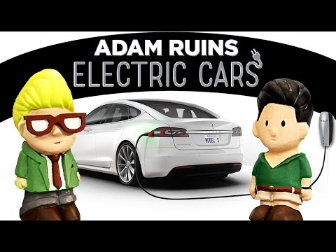 Electric Cars Arent As Green As You Think | Adam Ruins Everything