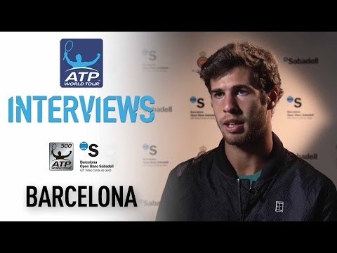 Thumbnail: Interview: Khachanov Discusses First Top 10 Win At Barcelona 2017