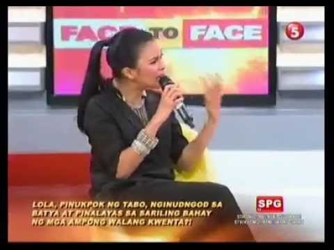 Face To Face TV5 October 22, 2012 Part 1