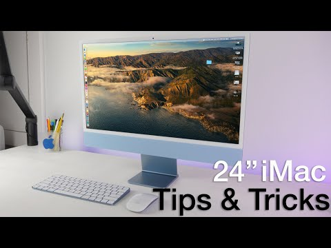 """How to use 24"""" iMac (M1) + Tips/Tricks!"""