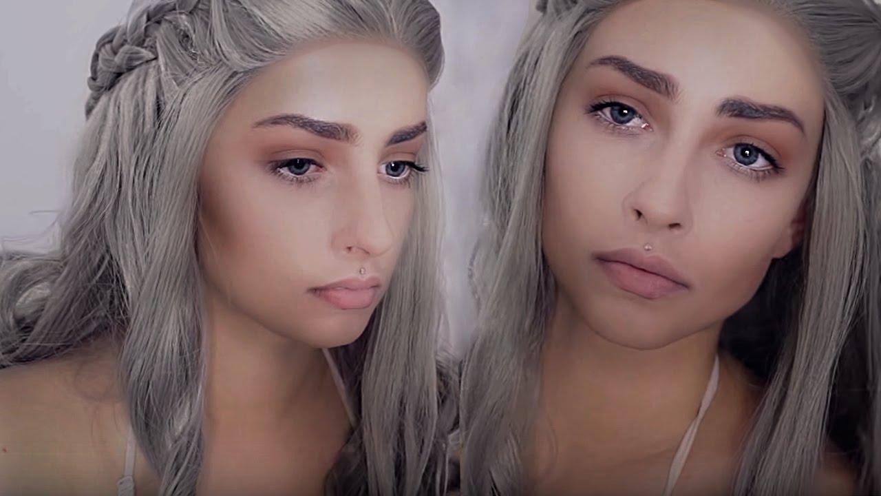 Khaleesi Makeup Gra O Tron Daenerys Targaryen Game Of Thrones