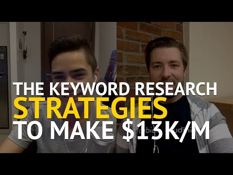 The Keyword Research Strategies Quinton Uses To Make $13k/m