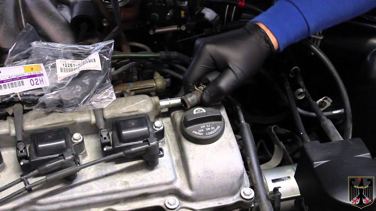 2001 toyota camry vacuum line replacement [ 1280 x 720 Pixel ]