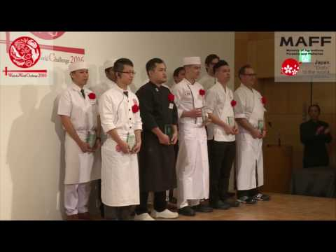 Prize Winners Picked for Washoku World Challenge 2016, Japanese Cooking Contest for ...