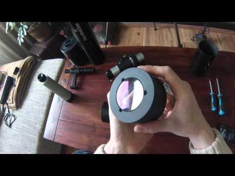 DIY Apochromatischer Refraktor für unter 100.- Euro