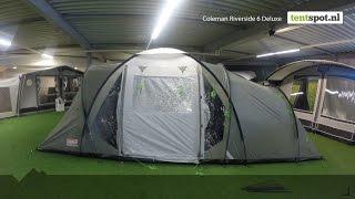 Coleman Riverside 6 Deluxe tunneltent - Tentspot.nl