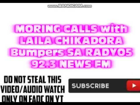 Morning Calls With LAILA CHIKADORA bumpers Sa RADYO5 92.3 NEWS FM