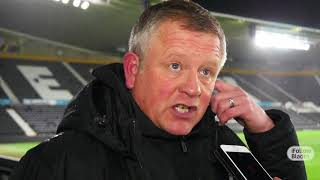Chris Wilder on transfer aims