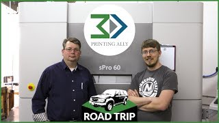 Huge SLS Printer - 3D Printing Ally | F3DP Road Trip