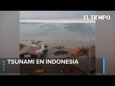 Devastador Tsunami en Indonesia | EL TIEMPO