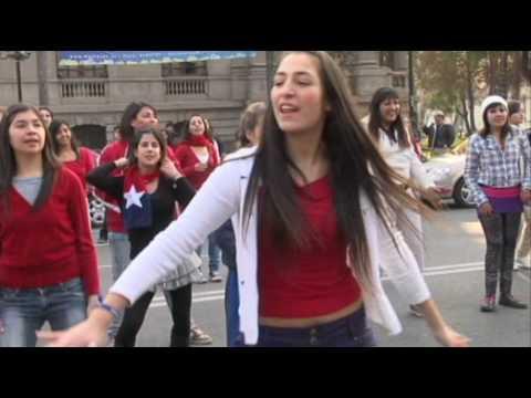 Chile Mobs - Dance Flashmob Waka Waka - Santiago de Chile