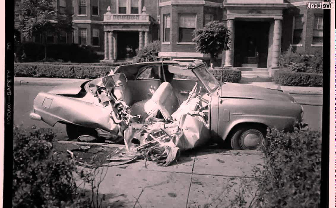Rare Vintage Automobile Accident Pictures