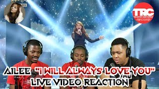 "Ailee ""I Will Always Love You"" Live Video Reaction"