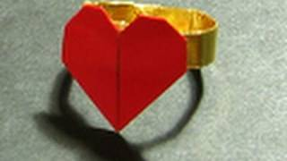 Valentine's Origami Tutorial: Lovers Ring (francis Ow)