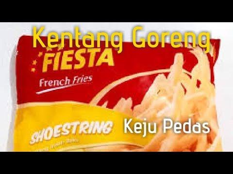 Rahasia menggoreng kentang / Resep French Fries ala KFC / McD.