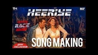 Heeriye Song Making - Race 3 Behind the Scenes | Salman Khan, Jacqueline Fernandez | Remo D'Souza