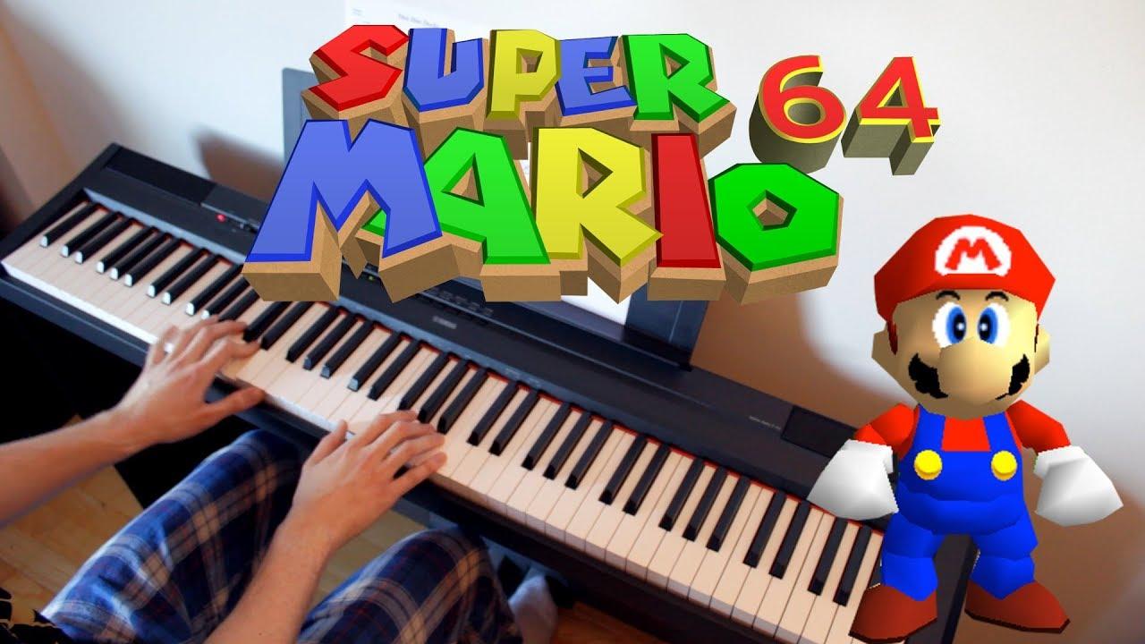 Dire, Dire Docks - Super Mario 64 Piano Cover | Sheet Music & Midi