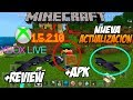 ✔NUEVA ACTUALIZACIÓN DE MINECRAFT 1.5.0.10 | INICIAR SESIÓN Xbox live -LINK MEGA Y MEDIAFIRE APK