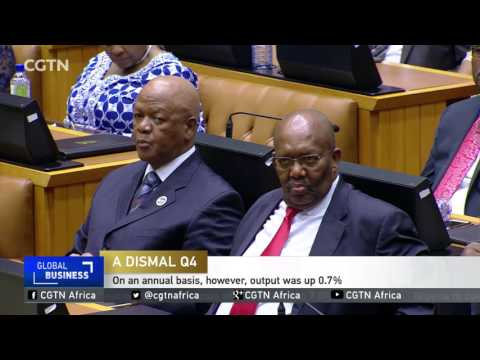 South Africa economy shrinks