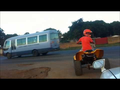 ATV drifting on lusaka by Moe Dakik
