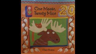 영어동화 - One Moose Twenty Mice […