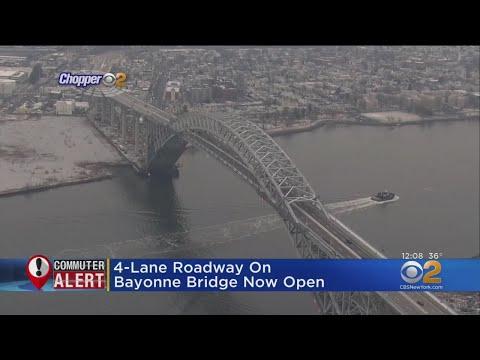 Bayonne Bridge Reopens