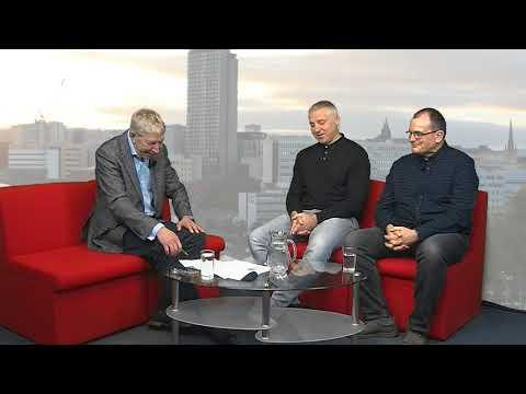 Sheffield Live TV Simon Tracey & Paul Taylor 25.1.18 Part 1