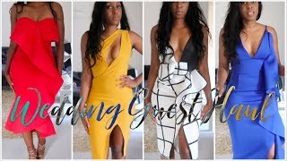 ASOS TRY ON HAUL | WEDDING GUEST DRESSES | ASOS DRESSES HAUL & UNBOXING | Style With Substance