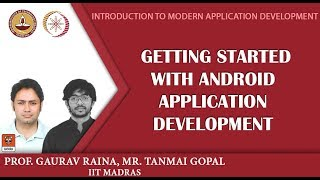 Module P12 - Getting started with Android Application Development