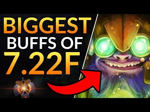 Patch 7.22F TINKER BUFFS - TI9 Gameplay Update - OUTWORLD DEVOURER NERFED | Dota 2 Meta Guide