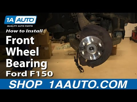 How To Replace Front Wheel Bearing Hub Assembly 04-08 Ford F150