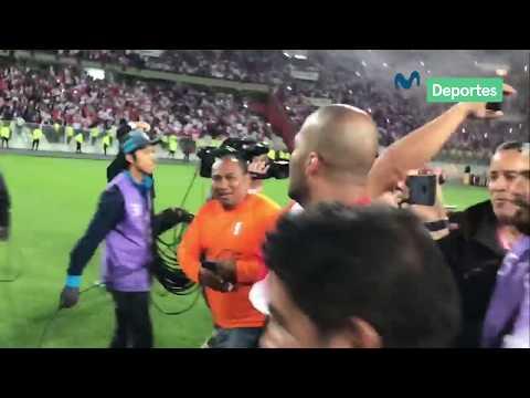La emotiva celebración de Perú tras la clasificación al Mundial Rusia 2018