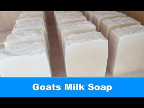 Goats Milk Soap, Cold Process Soap Making and Cutting