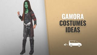 Top 10 Gamora Costumes Ideas For Halloween 2018: Rubie's Costume Guardians of The Galaxy Vol. 2