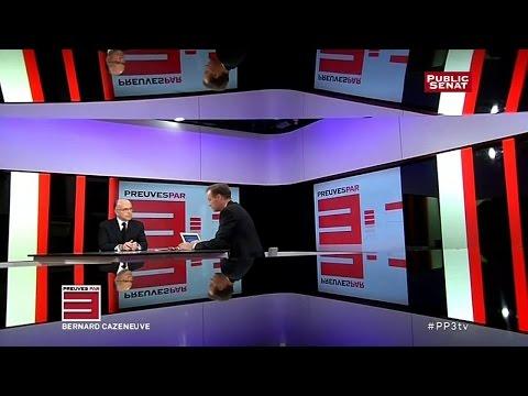 Invité : Bernard Cazeneuve - Preuves par 3 (28/10/2014)