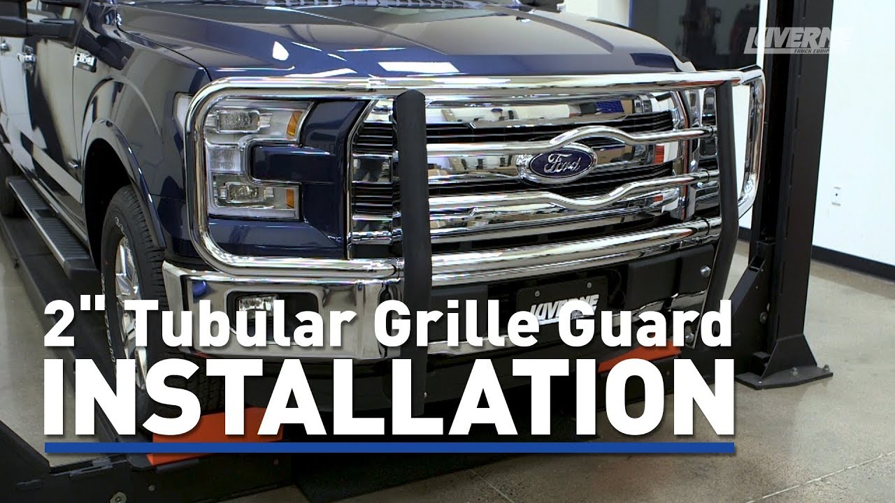 Luverne Install 2 Tubular Grille Guard On Ford F 150 331523 331520 341523 341520