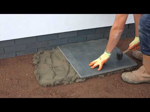 Installing your Vitrified paving with MKM