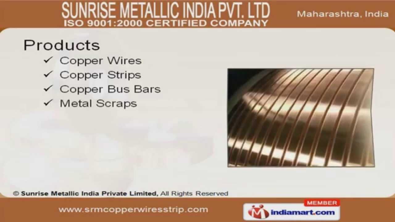 Copper Strips by Sunrise Metallic India Private Limited, Mumbai ...